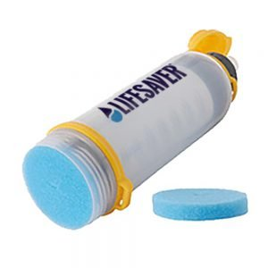 LifeSaver water purification bottle sponges