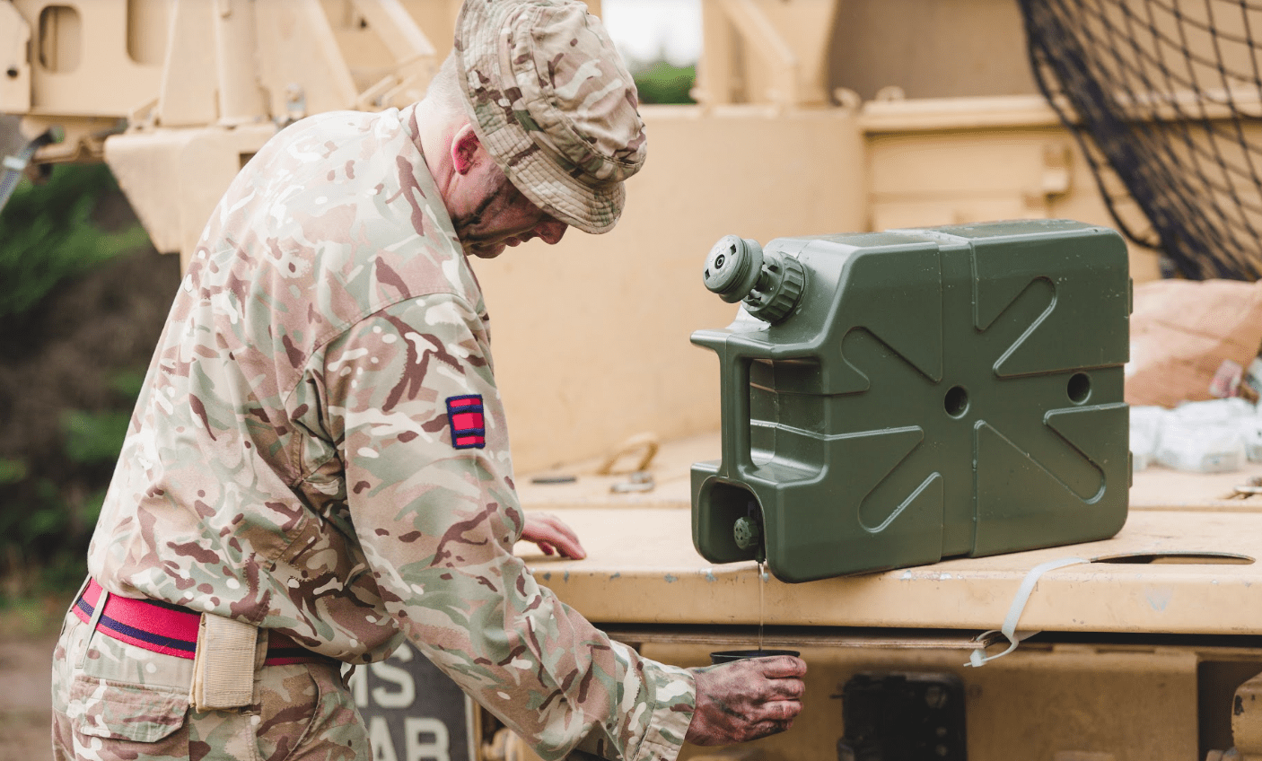 LifeSaver Jerrycan meets NSF Protocol P248 standard for U.S. Military